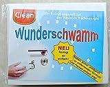 Schmutzradierer Wunderschwamm Putzschwamm Radierschwamm - ohne Reinigungsmittel verwendbar 14 x 5,9 x 3 cm