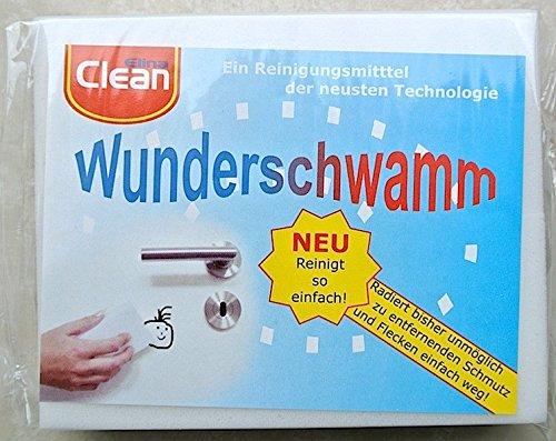 Schmutzradierer Wunderschwamm Putzschwamm Radierschwamm - ohne Reinigungsmittel verwendbar 14 x 5,9...