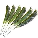 Künstliche Cycas-Palmenblätter – Ostersonntag, 6 Stück