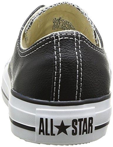 ... Converse Chuck Taylor Core Lea Ox 246270-55-3, Sneaker Donna Nero ...