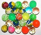 100 x Flummis Flummi Springball 20 mm Bälle Ball Hüpfball diverse Farben Muster