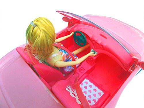 Brigamo 10681 – ✨ Puppen Auto Glam Cabrio mit Modepuppe ✨ - 5