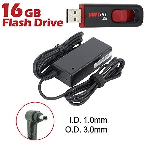 Battpit Notebook Netzteil Ladegerät für Acer Chromebook R11 CB5-132T-C32M mit Netzkabel bei kostenlosem 16GB Battpit USB-Stick