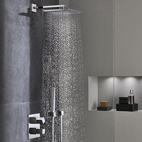 Grohe grohtherm cube gth cube termostato empotrado for Termostato para ducha