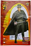 Rubie's ZORRO (Muscle Chest) - Adult Costume Man: STD. (to 44' Chest)