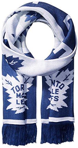 NHL SP17Wiederholen Logo Jacquard Schal, blau, Einheitsgröße