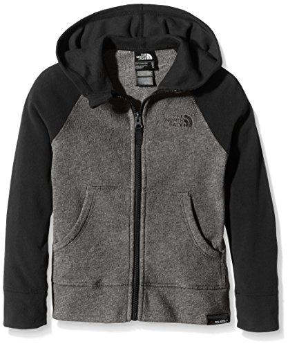 THE NORTH FACE Boy 's Glacier Full Zip Hoodie M TNF Black/Graphite Grey North Face Kids Outerwear