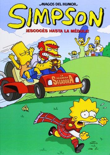 ¡Escocés hasta la médula! (Magos del Humor Simpson 37) (Bruguera) por Matt Groening