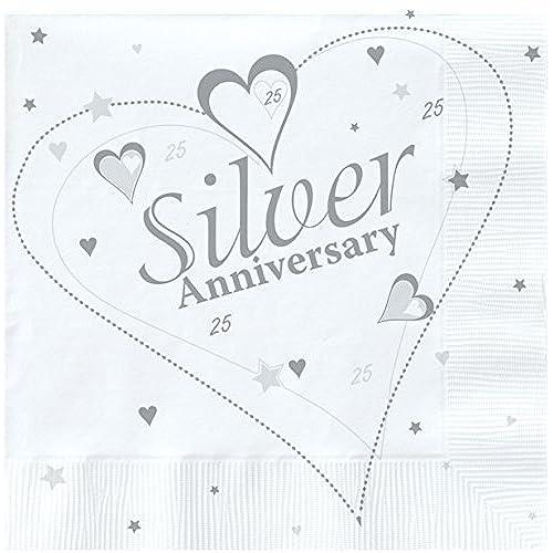 Silver wedding decorations amazon junglespirit Gallery