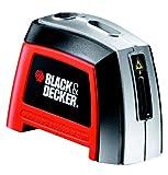 Black+Decker BDL120-XJ - Nivel láser manual con 2 burbujas y 3 m de alcance