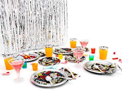 Party Planet - Pack fiesta elegante Halloween o fiesta mexicana...