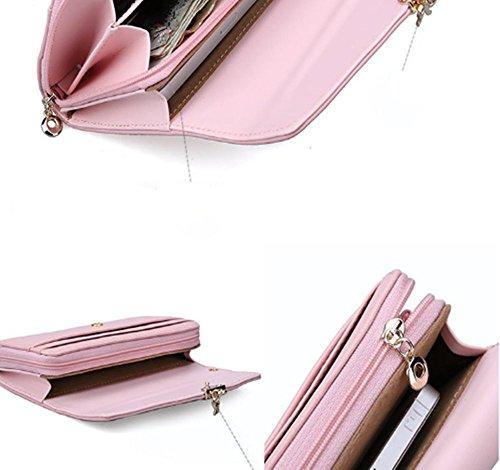 Eysee - Borsetta senza manici donna Pink