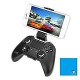 Ipega PG-9069 sans fil Bluetooth Gamepad, version améliorée pour 9055, contrôleur de jeu Touch Pad pour iPhone / iPad / PC / TV Box / Android Smartphones / compatible avec galaxy s8 + / Gear VR