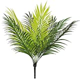 Bird_Fiy Uccello Fiy 50,8cm foglia di palma artificiale Bush Greenery vegetali finta fronde di palma tropicale 9foglie di palma per casa festa di nozze decorazioni