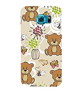 Cute Bear Wallpaper 3D Hard Polycarbonate Designer Back Case Cover for Samsung Galaxy Note 5 Edge