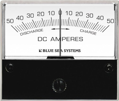 Blue Sea Systems 50-0-50a DC Amperemeter mit Shunt Blue Sea Meter