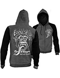 Officially Licensed Gas Monkey Garage - Dallas Texas Varsity Zip Hood