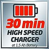 Einhell System Schnellladegerät Power X-Change (18 V, 30 Minuten Ladezeit, passend für alle Power X-Change Lithium Ionen Akkus) - 4
