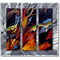 48 x 24 Ruth Palmer Abstract metal Wall Art,