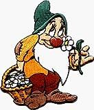 MemelBurg Zwerg schüchtern von Disney Schneewittchen und die sieben Zwerge bestickt Aufbügeln Applique Patch