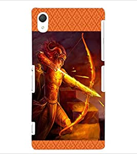 ColourCraft The Archer Design Back Case Cover for SONY XPERIA Z2