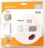 Friedland 360° PIR Bewegungsmelder Sicherheits-Deckenleuchte, 112 dB Sirene, Alarm mit Fernbedienung-Wireless Chime oder Alarmmodus