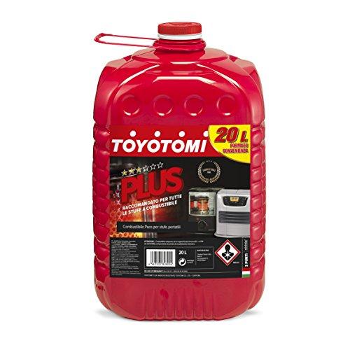 Toyotomi PLUS20L Plus Combustibile per Stufe Zibro 20 Litri, Aromatici  0.00500%