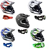 MOTO CASCHI GSB XP-14B MX CASCO CROSS RACING, MOTOCICLETTA CASCO da CORSA, OFF ROAD QUAD SCOOTER...