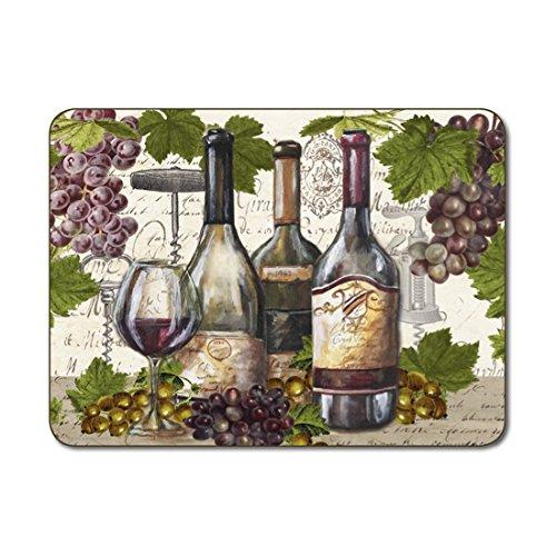Jason - tovagliette all'americana vintage wines - set di 4 (grandi)