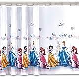 Gardine PRINZESSIN WHITE 1 Teil 150B x 165L Kinderzimmer Vorhang DISNEY
