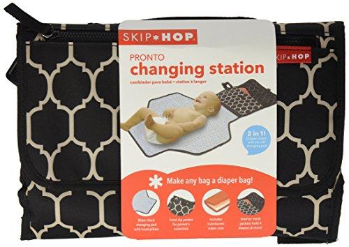 Skip Hop 202017 Mini-Wickeltasche, Variante, schwarz/weiß - 3