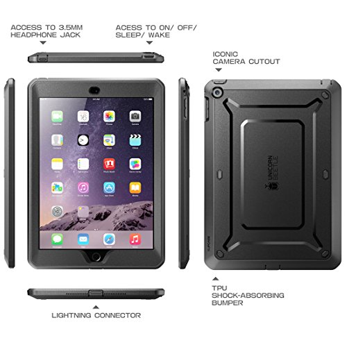 online store e21cc 2b9c0 iPad Mini Case, SUPCASE [Heavy Duty] Apple iPad Mini 3 Case [2014 Release  with Touch ID] Compatible with iPad Mini / iPad Mini with Retina Display ...