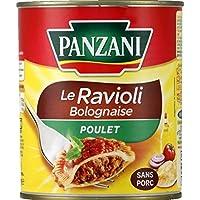 Panzani Ravioli Bolognaise Poulet La boîte de 800g - Prix Unitaire - Livraison Gratuit Sous 3 Jours