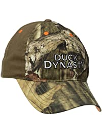 Duck Dynasty Embroidered Logo Camo Snapback Baseball Cap
