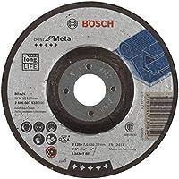 Bosch 2 608 603 533  - Disco de desbaste acodado Best for Metal - A 2430 T BF, 125 mm, 7,0 mm, pack de 10