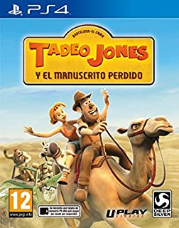 Tadeo Jones Y El Manuscrito Perdido (B00NFBNTBI) | Amazon price tracker / tracking, Amazon price history charts, Amazon price watches, Amazon price drop alerts