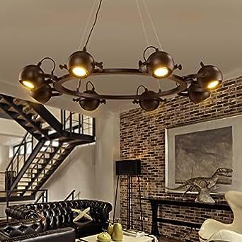 aiwen kreative schmiedeeisen kronleuchter lichtquelle. Black Bedroom Furniture Sets. Home Design Ideas
