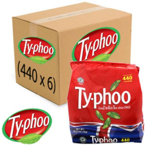 Typhoo One Cup Teabags (Case of 2640)