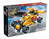 Banbao Construction Building Bricks Blocks 132 Piece Pull Back Racing Car - Can Use With Leading Brands - Child Development Toys & Games Age 4+ Low Cost Great value Boy Children Boys Child Kids - Wonderful Idea for Christmas Easter or Birthday Present Gift