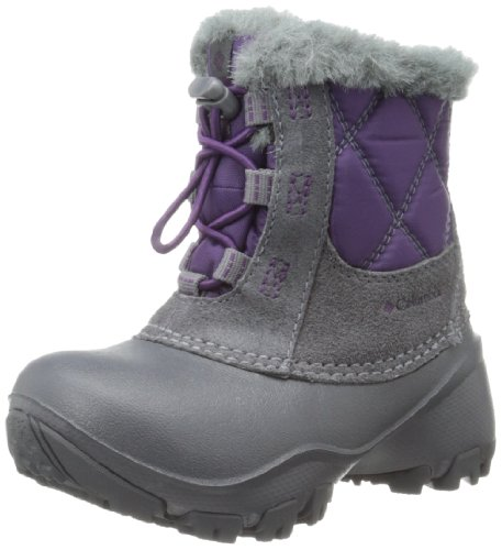 Columbia Childrens Rope Tow II, Pluie et neige fille Violet (502 Glory Shale)