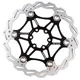 Hamimelon 180mm Fahrrad Scheibenbremse Bremsscheibe MTB Scheibenbremse schwarz