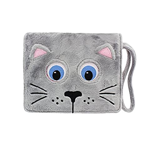 Tab Zoo Plush Folio with App and Strap, 10 inch