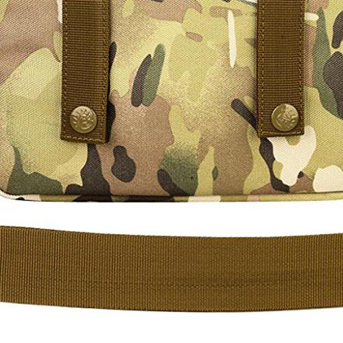 MagiDeal Molle Tattico Casuale Borsa a Spalla Militare Sacchetto Messenger Bag per Campeggio, Escursionismo, Viaggio - #01 #01