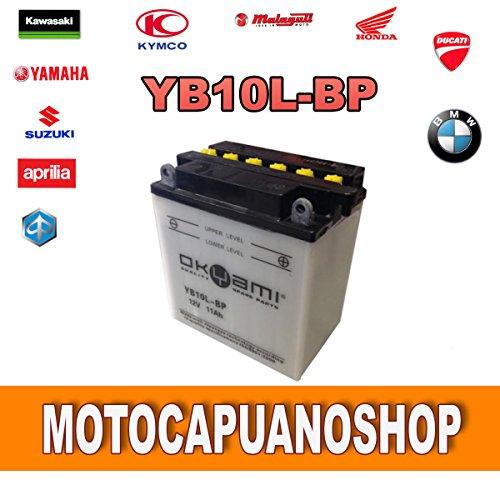 BATTERIA YB10L-BP PIAGGIO BEVERLY RST 250-200 ANNO 2004 2005 RMS