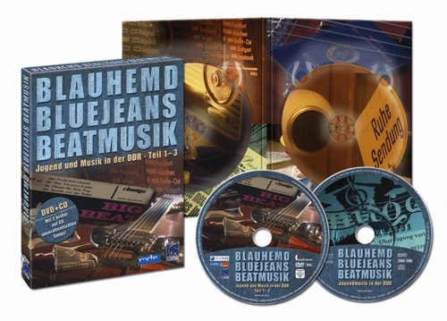 Blauhemd, Bluejeans, Beatmusik - Jugend und Musik in der DDR (Teil 1-3; Bonus CD mit Puhdys, Silly, Renft u. v. a.) [2 DVDs]