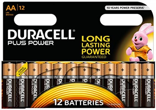 Duracell Plus Power Alkaline Batterien AA (MN1500/LR6) 12 Stück Special Offer Pack (Stück 12)