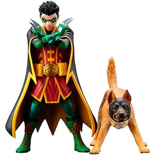 Dc comics sv222universe robin e bat-hound artfx statua