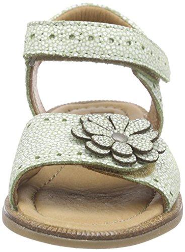Bisgaard Sandals, Sandales Bride cheville fille Vert - Grün (38 Lime)