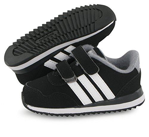 adidas  V Jog Cmf Inf, chaussure de sport Unisexe - enfant Noir