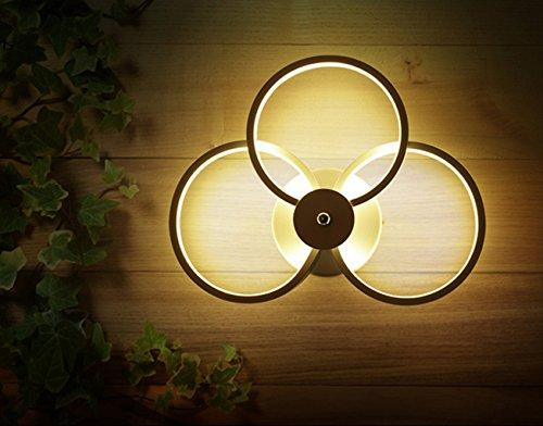 Mmn Modern, einfach, LED, rund, Wohnzimmer, Gehweg, Treppen Lichter, Schlafzimmer, Studie, Acryl, Nachttischlampe mmn -